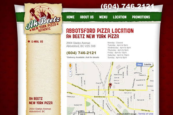Ah Beetz New York Pizza