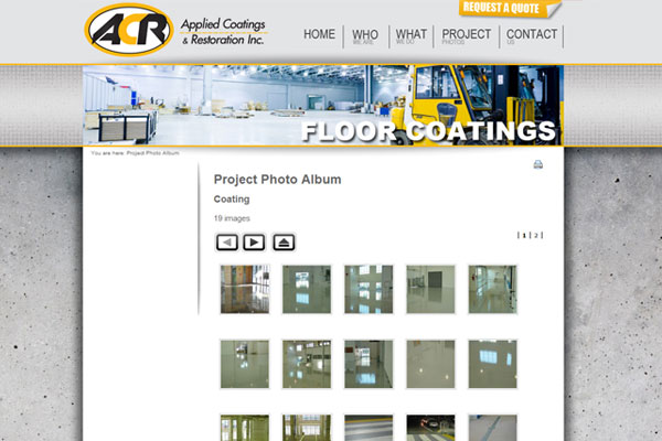 Applied Coatings & Restoration