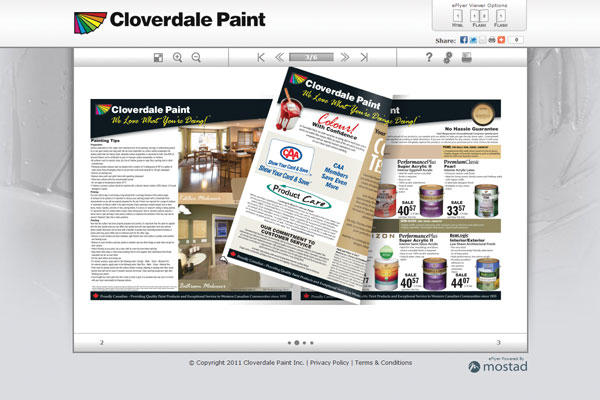 Cloverdale Paints eFlyer