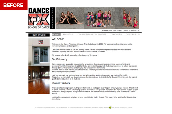 Dance FX School Of Dance