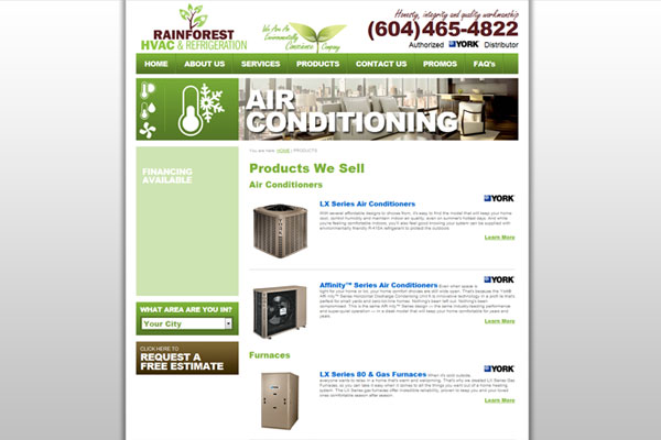 Rainforest HVAC+R