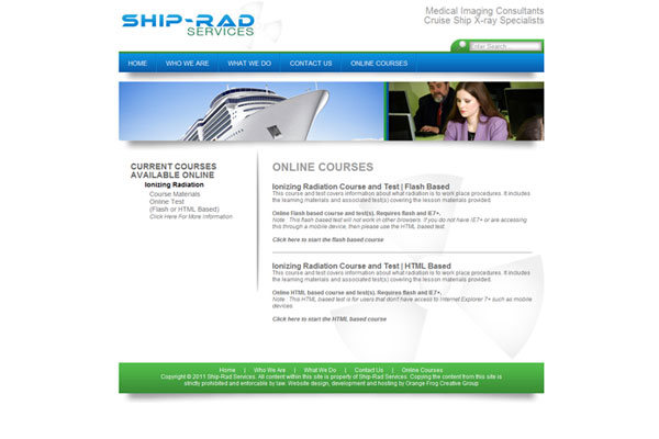 Ship Rad Services