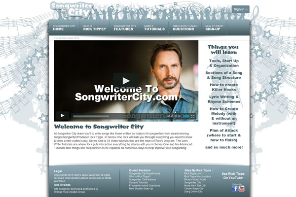 Rick Tippe's Songwriter City