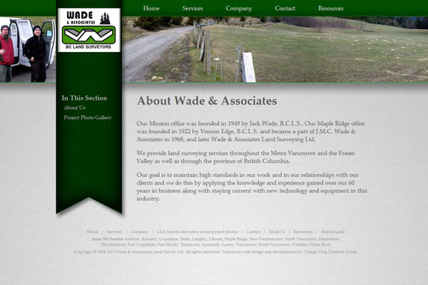 Wade & Associates BC Land Surveyors