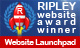 Our website has won a design award from Web Site Launchpad